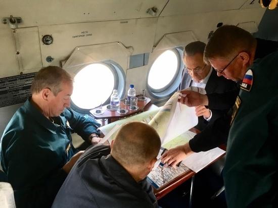 Как федеральные чиновники работали на затопленных территориях
