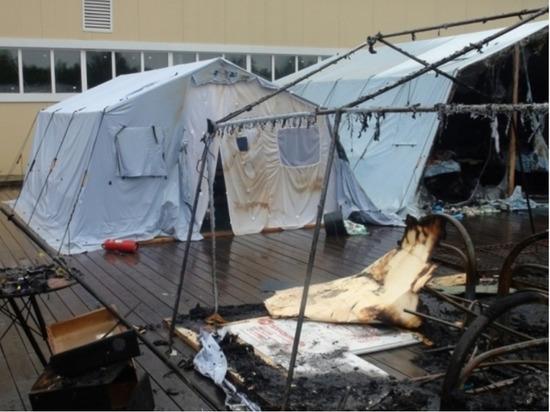 Названа неожиданная причина пожара в хабаровском детском лагере