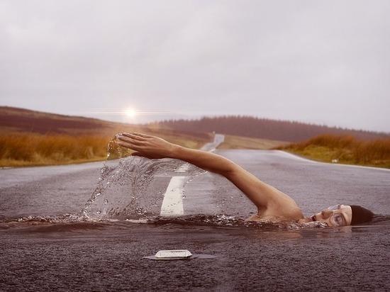 Сила мониторинга: в Бурятии вода простояла на дороге 5 часов и сама ушла