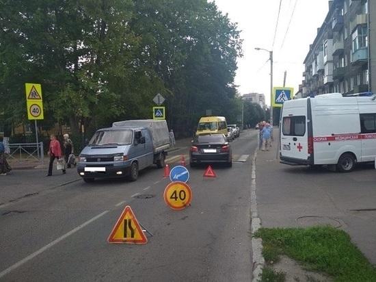 В Калининграде лишенный прав пенсионер сбил 58-летнюю женщину