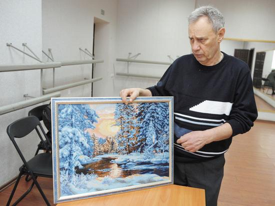 Свой крест: ветеран-афганец из Борисоглебска вышивает картины бисером
