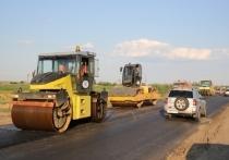 Под Волгоградом идет ремонт трассы на Сальск