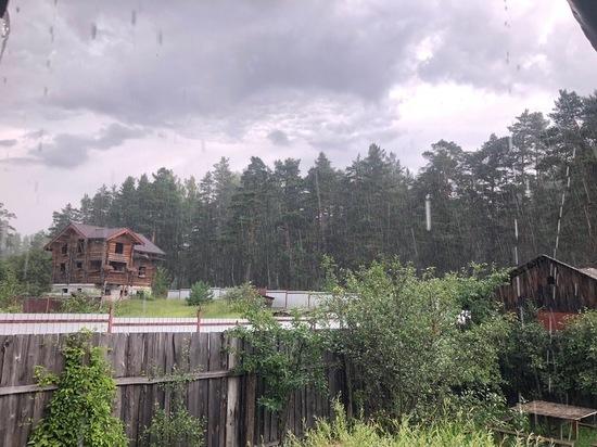 Гроза с ливнем надвигаются на Тверскую область