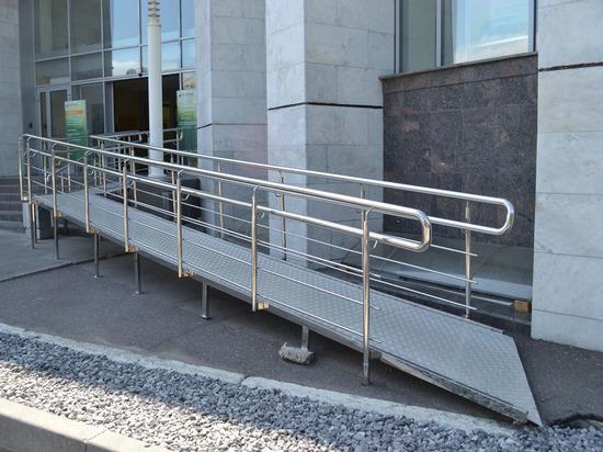 Прокуратура Калининграда забраковала пандус в одном из торговых центров