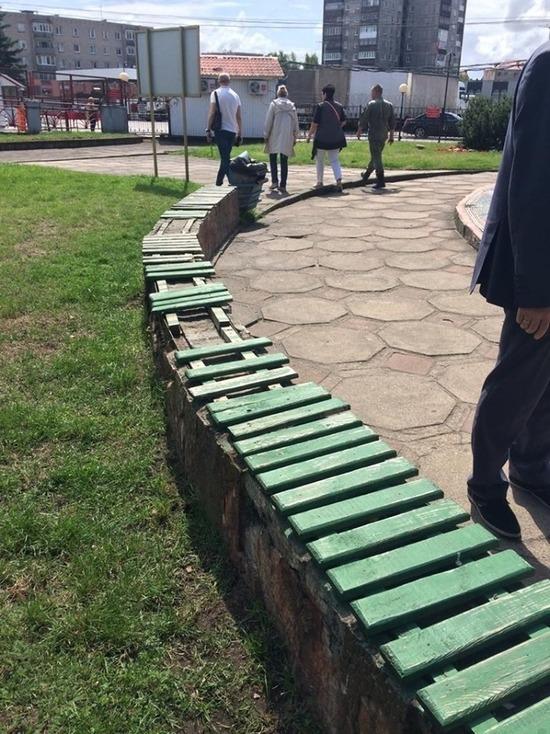 Глава Советска сообщил о вандализме в центре города