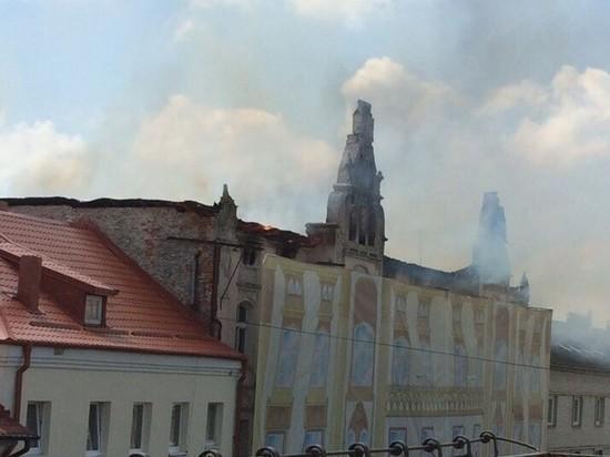 Калининградская полиция выяснила, кто подпалил театр королевы Луизы в Советске