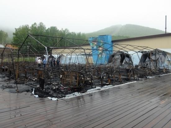 Производители сгоревших в «Холдоми» палаток обвинили директора во лжи