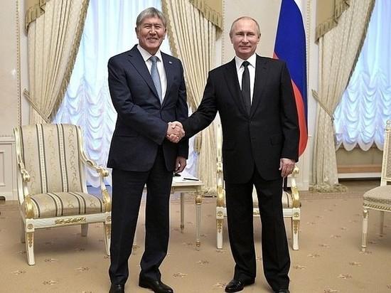 Драма экс-президента Киргизии Атамбаева неприятно удивила Путина