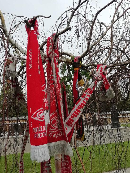«Спартак» опять забыл про Черенкова: на  могиле все еще нет памятника