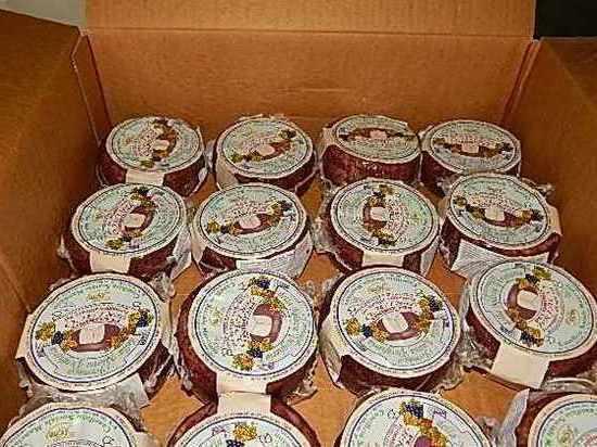 В Псковскую область снова запретили ввезти 10 тонн итальянских продуктов