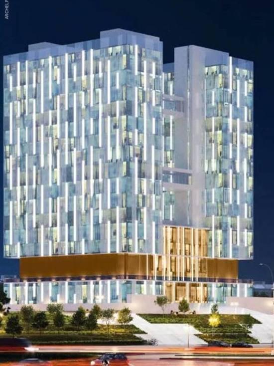 Появились первые проекты нового фасада Дома Советов в Калининграде