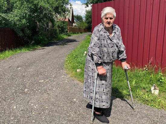Пенсионерку решили угробить по-соседски