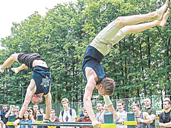 В спортивном городе — спортивный праздник