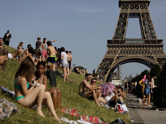 Температурные рекорды побиты во Франции, Бельгии и Великобритании
