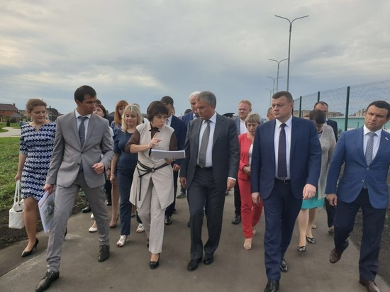 Тамбов с рабочим визитом посетил Вячеслав Володин