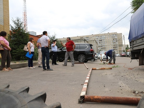 В Тамбове ликвидировали самовольную парковку