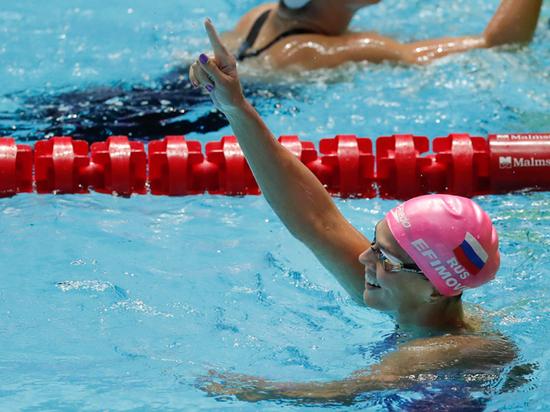 Российские пловцы завоевали три золота на ЧМ в Кванджу
