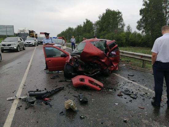 В Тамбовской области  в аварии погибли  взрослые и грудной ребенок
