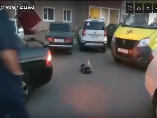 В оренбургских дворах увеличилось количество ДТП с участием детей