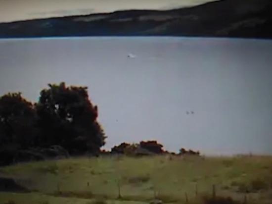 Опубликовано видео сразу с двумя Лохнесскими чудовищами