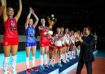 Женская сборная России по волейболу обыграла поляков и завоевала Кубок Губернатора