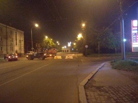В Калининграде закрыли часть улицы Киевской