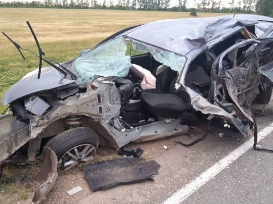 В Башкирии случилось «лобовое» ДТП: один погиб, четверо пострадали