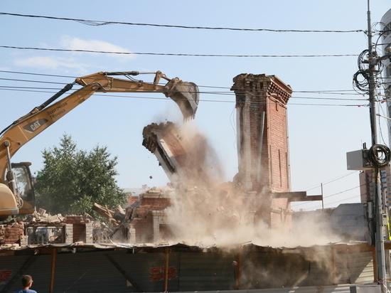 Усадьбу купца Михайлова окончательно снесли в Барнауле