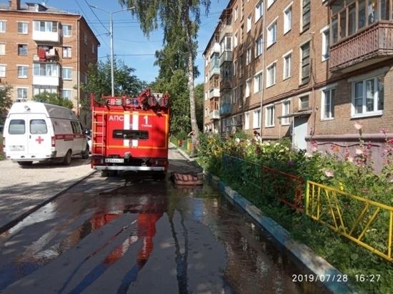 Горячие сутки тульских спасателей: 5 пожаров и 3 тяжелых ДТП