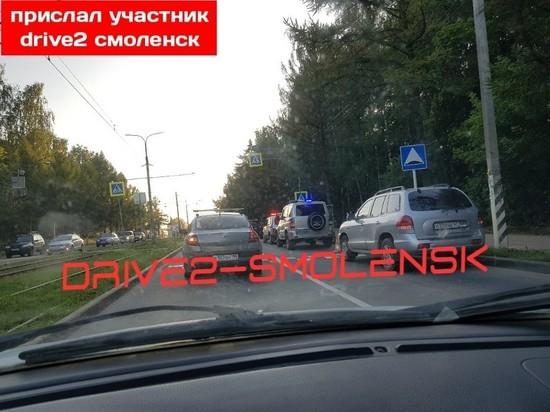 В Смоленске пятилетняя девочка погибла под колесами автомобиля