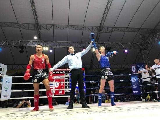 Илья Баланов из Мурманска выиграл Чемпионат мира по тайскому боксу