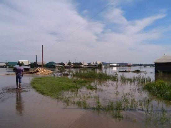 В Приангарье поднялся уровень рек Белая, Китой и Тойсук