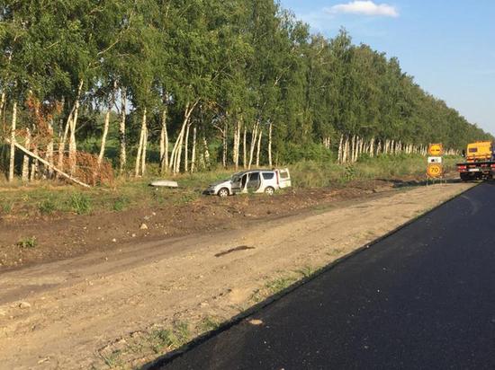 В  Тамбовской области в ДТП пострадали двое детей