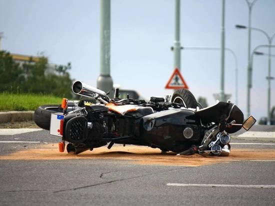 В ДТП в центре Саранска пострадал мотоциклист