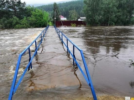 В Шелеховском и Слюдянском районах отмечен спад воды