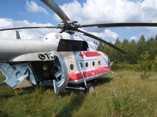 Вертолетами из области в Тверь транспортированы тяжелобольные пациенты