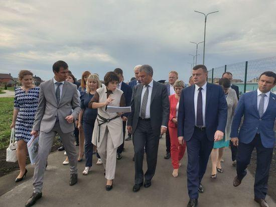 Официальные и неофициальные подробности визита в Тамбов спикера Госдумы