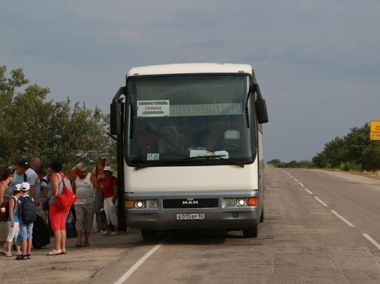 До границы с Украиной из Симферополя запустят ночные рейсы