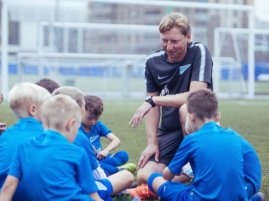 В Академии «Зенита» начались двухнедельные сборы будущих звезд футбола