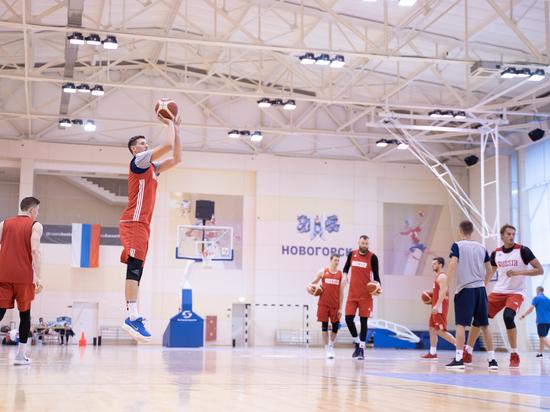 Мы побывали на тренировке сборной России по баскетболу