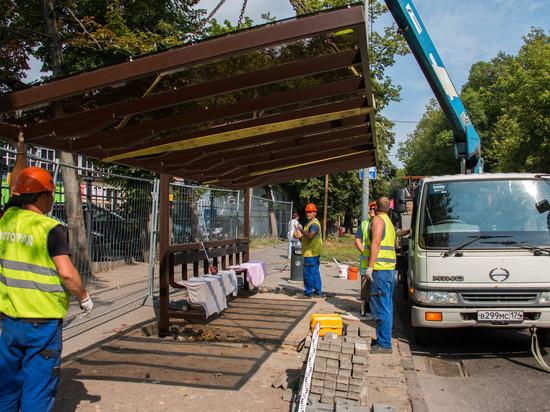 В Калининграде установят остановочные павильоны с новым дизайном