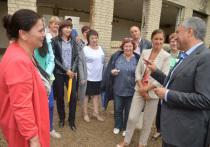 Спикер Госдумы встретился  с жителями пяти районов региона