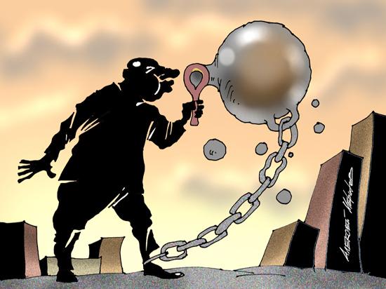 Граждане оказались зажатыми между молотом госкапитализма и наковальней олигархии