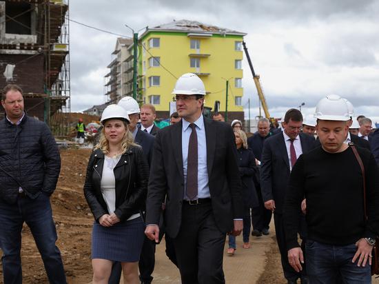 Глеб Никитин побывал на стройке ЖК «Новинки Smart City»