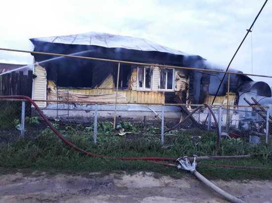 В Мордовии пенсионерка заживо сгорела в своем доме