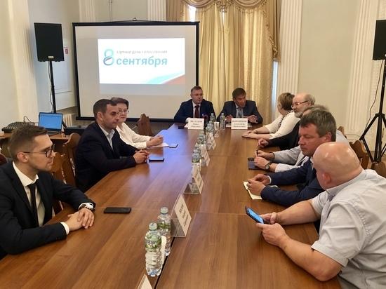 Боевая готовность: тульский Избирком и политики встретились за «круглым столом»