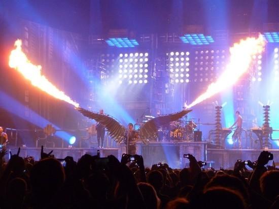 Rammstein признались в любви России после концерта в Москве