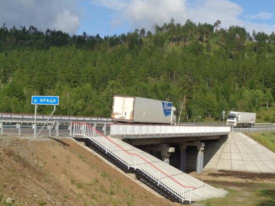 Мост через Арацу отремонтировали и покрыли полимером в Забайкалье