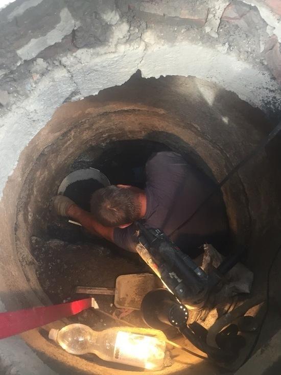 Жители Оренбурга сами чистят канализацию