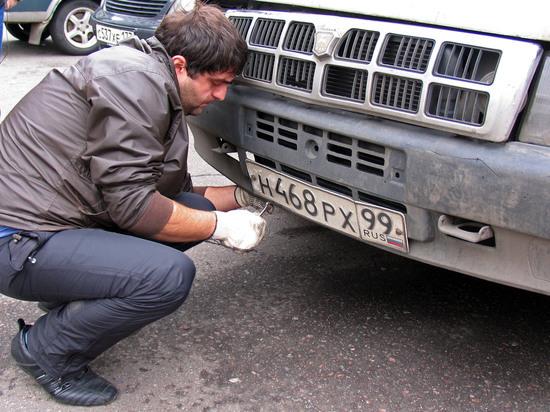 Путин упростил выдачу регистрационных номеров для автомобилей